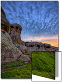 Glorious Morning Sky at Elephant Rocks, California Coast Plakater av Vincent James