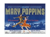Mary Poppins, 1964 Giclee Print