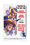 The Man Who Shot Liberty Valance, 1962 Giclee Print