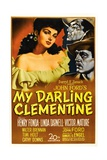 My Darling Clementine, 1946 Giclee Print