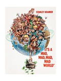 It's a Mad Mad Mad Mad World, 1963 Reproduction procédé giclée