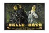Beauty and the Beast, 1946 (La Belle Et La Beïte) Digitálně vytištěná reprodukce