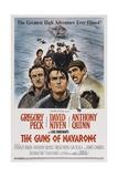 The Guns of Navarone, 1961 Giclée-tryk
