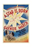 A Star Is Born, 1937 Giclee Print