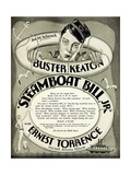 Steamboat Bill Jr., 1928 Giclee Print
