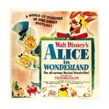 Alice in Wonderland, 1951 Giclee Print