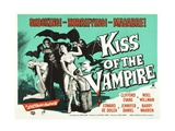 Kiss of the Vampire, 1963 Giclee Print