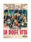 The Sweet Life, 1960 (La Dolce Vita) Lámina giclée