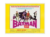 Batman: the Movie, 1966 Giclée-tryk