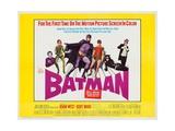 Batman: the Movie, 1966 Giclée-Druck
