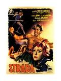 La Strada, 1954 Giclée-Druck