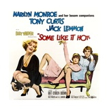 Some Like it Hot, 1959 Giclée-tryk