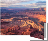 Morning Light at Dead Horse Point, Southern Utah Poster von Vincent James