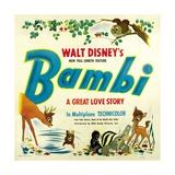Bambi, 1942 Giclee Print