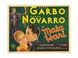 Mata Hari, 1931 Giclee Print