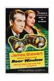 Rear Window, 1954 Digitálně vytištěná reprodukce