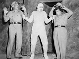 Abbott and Costello Meet the Mummy, 1955 Fotografisk tryk