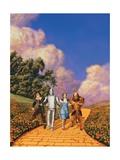 The Wizard of Oz, 1939 Giclée-tryk