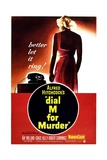 Dial M for Murder, 1954 Giclee Print