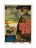 For a Few Dollars More, 1965 (Per Qualche Dollaro in Piu) Giclée-Druck