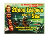 20.000 Leagues under the Sea, 1954 Giclee Print
