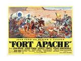 Fort Apache, 1948 Giclee Print