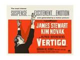 Vertigo - Punainen kyynel, 1958 Giclee-vedos