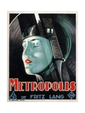Metropolis, 1927 Giclee Print