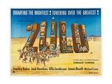Zulu, 1964 Giclee Print