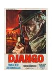 Django, 1966 - Giclee Baskı