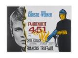 Fahrenheit 451, 1966 Giclee Print
