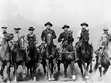 The Magnificent Seven, 1960 Papier Photo