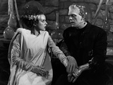 The Bride of Frankenstein, 1935 Papier Photo