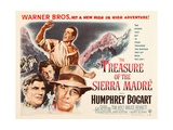 The Treasure of the Sierra Madre, 1948 Gicleetryck