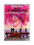 Vitelloni, 1953 (I Vitelloni) Gicléetryck