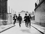 A Hard Day's Night, 1964, på engelsk Fotografisk tryk