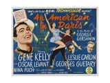 An American in Paris 1951 Gicléetryck