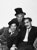 Harpo Marx, the Marx Brothers, Chico Marx, Groucho Marx Photographic Print