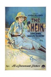 The Sheik, 1921 Giclee Print