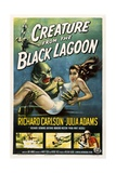 Creature from the Black Lagoon, 1954 Giclée-Druck