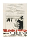 Miracle in Milan, 1950 (Miracolo a Milano) Giclee Print