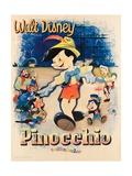 Pinocchio, 1940 Giclee Print