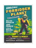 Forbidden Planet, 1956 Giclée-Druck