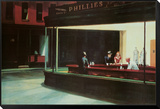 Nighthawks, c.1942 Framed Print Mount by Edward Hopper