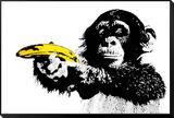 AFFE - Banane Framed Print Mount