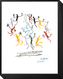 La ronde de la jeunesse Reproduction montée et encadrée par Pablo Picasso