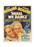 Shall We Dance, 1937 Giclee Print