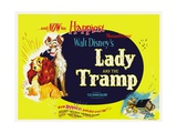 The Lady and the Tramp, 1955 Giclee Print