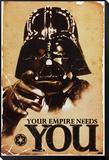 STAR WARS - Das Imperium braucht Dich Framed Print Mount