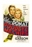Goodbye, Mr. Chips, 1939 Giclee Print